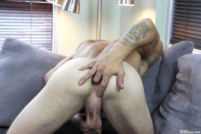 Guy play with his ass