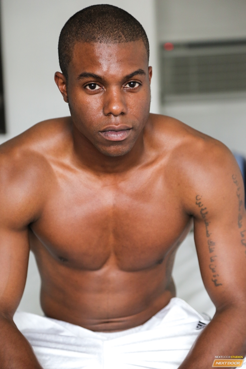 Rugged Ripped Black Stud Jaden Jerks His Huge Dick To A -4300