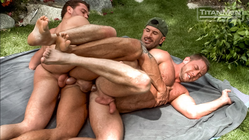 Hot Bareback Fucking In Various Positions