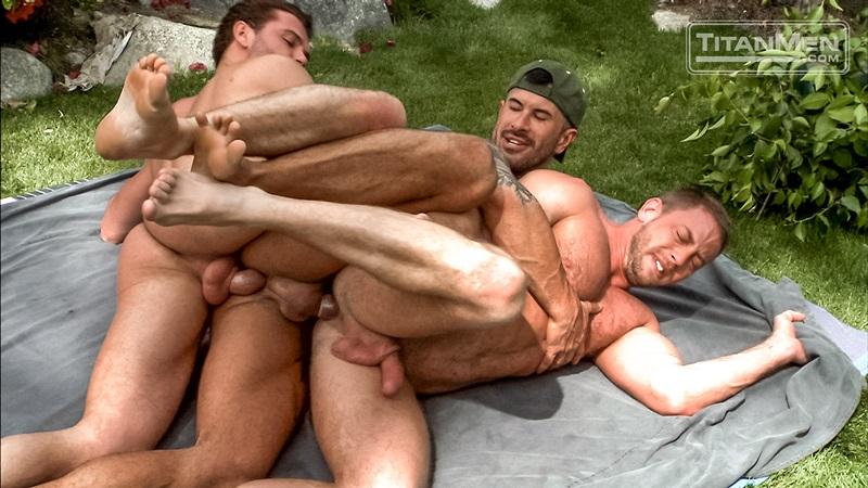 Titan Men Deep End Hardcore Gay Fuck Orgy  Nude Guys Sex Pics-6015