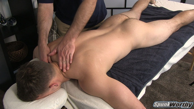 Spunkworthy-solo-Gavin-happy-ending-massages-bubble-butt-ass-cheeks-low-hanging-balls-male-nipples-strokes-huge-dick-cum-shot-orgasm-02-gay-porn-star-sex-video-gallery-photo