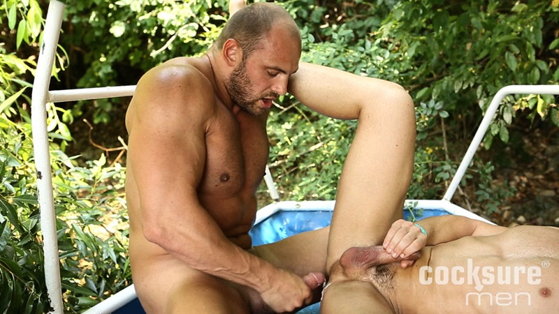 CocksureMen-Beefy-stud-Thomas-Ride-muscle-jock-Andy-West-huge-thick-uncut-cock-7-inch-raw-ass-bareback-fucking-doggy-style-cocksucker-21-gay-porn-star-sex-video-gallery-photo