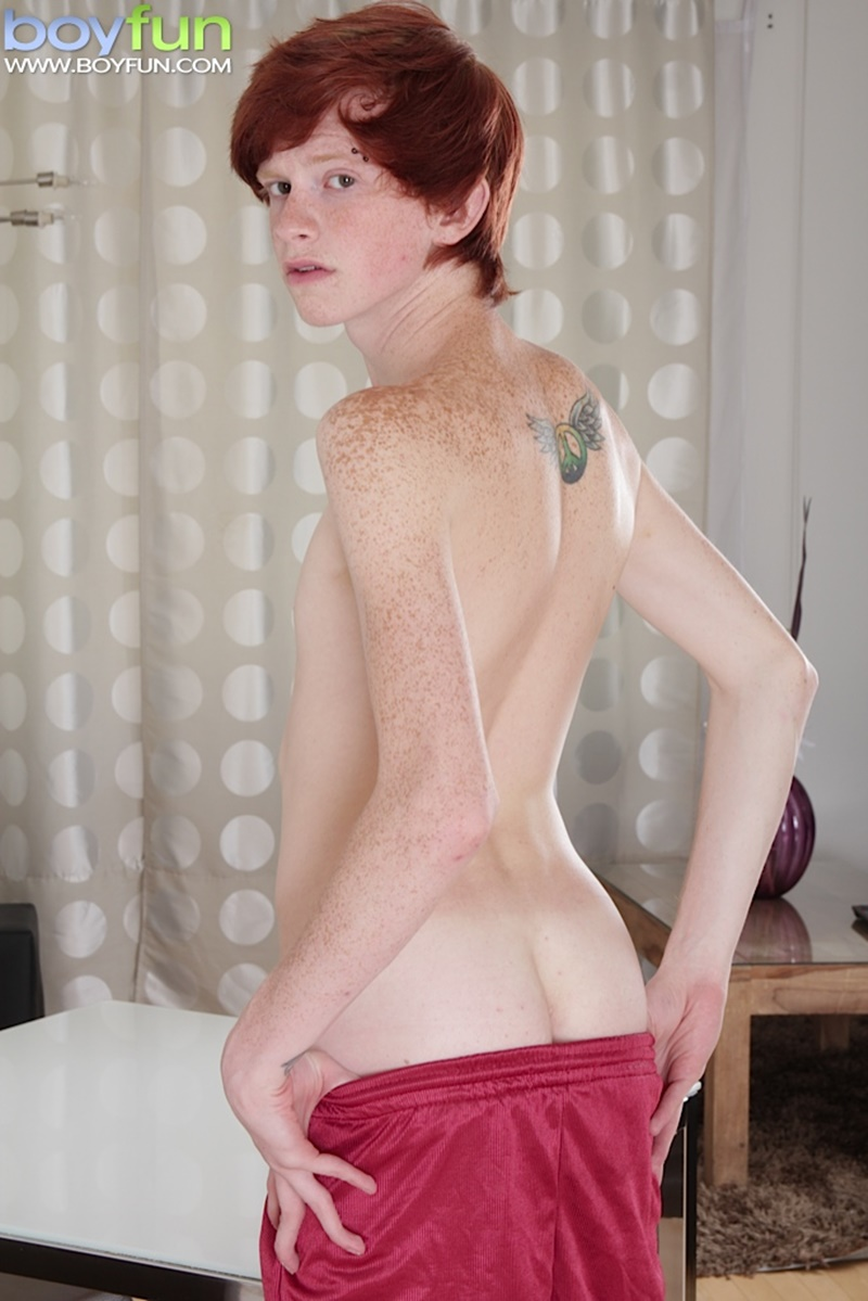 Naked ginger twink cums and sleeping twink 4