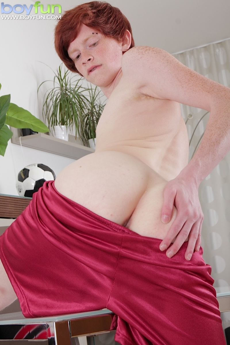 Ginger Haired Twink Elijah Young Spreads His Legs And -8231