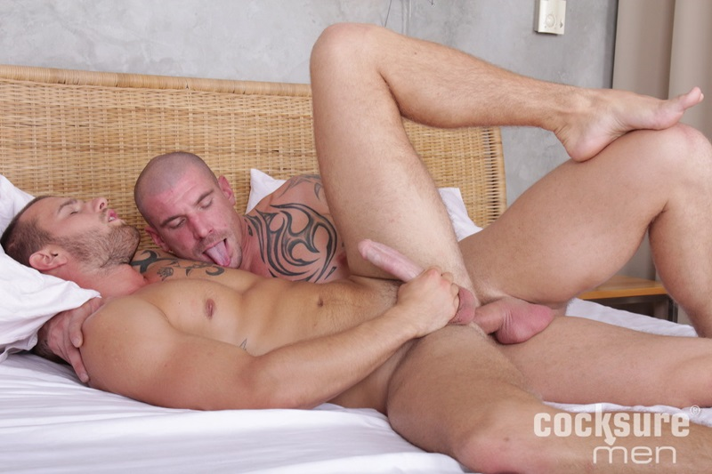 CocksureMen-naked-muscle-men-Max-Bourne-Van-Morris-anal-man-hole-bareback-bare-raw-cock-cum-load-six-pack-abs-low-hanging-balls-21-gay-porn-star-sex-video-gallery-photo