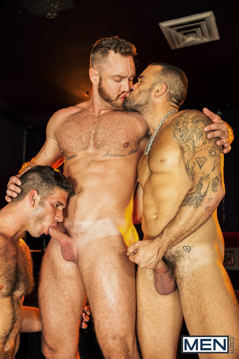 Hot gay damien embarks to stroke and jack 9