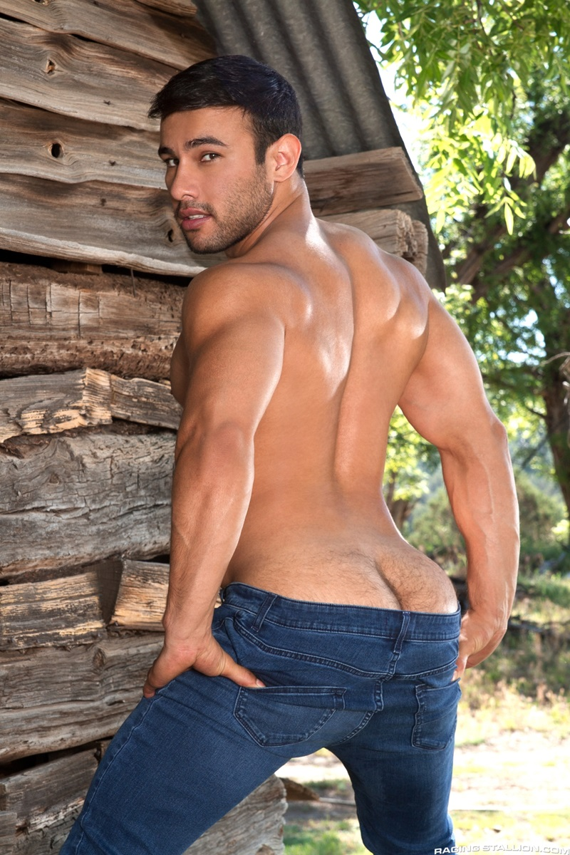 Hunky Guy Love Cracking Tight Ass