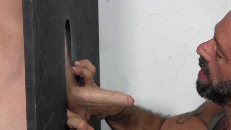 Gay Bj On Gloryhole With Straight Dude