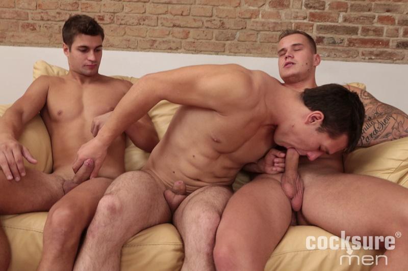 Rudy threesome gay porn