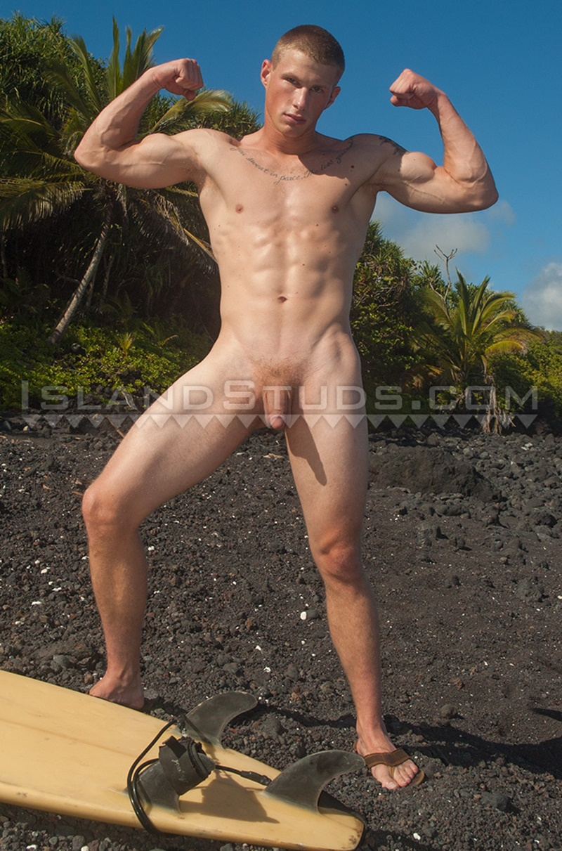 Naked male beach video-9153