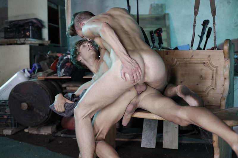 Tristan Archer And Noah Matous Hardcore Bareback Anal Fucking  Nude -3275