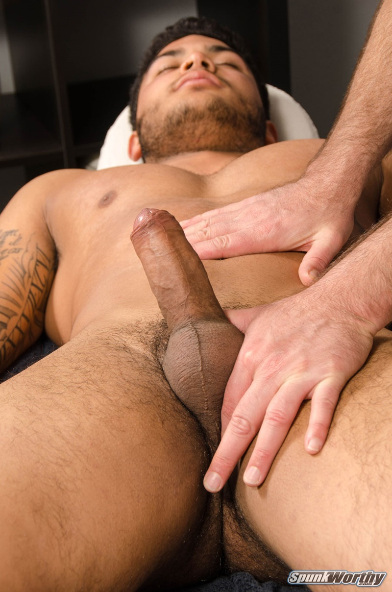 Big hairy gustavo whacks his gack