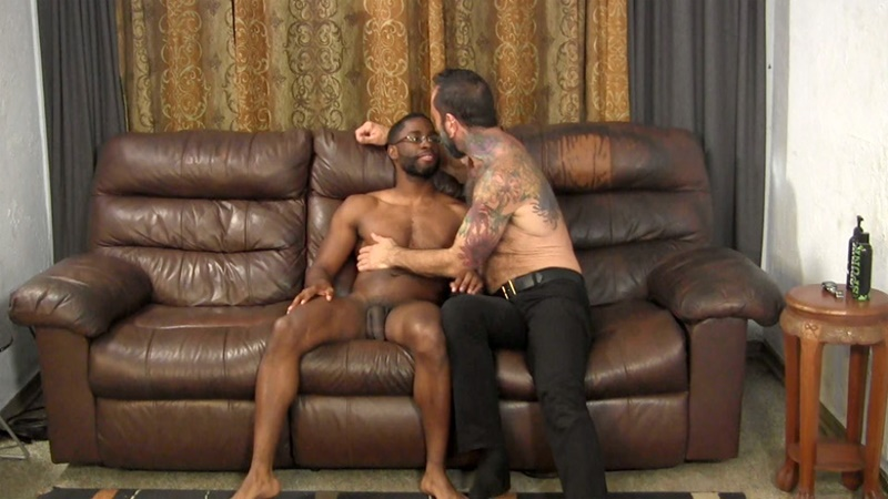 Tyler Fucks Franco Bareback With His Big Black Cock  Nude Dude Blog-2448