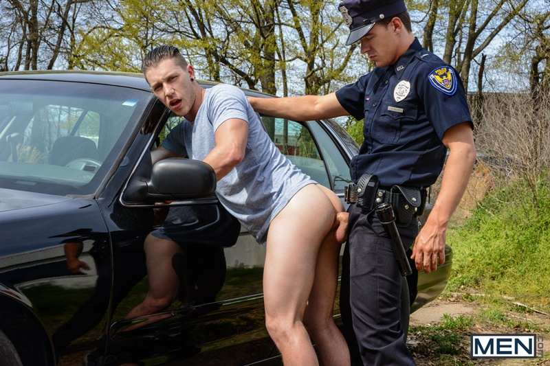 Hot nude male cops gay suspect on the run
