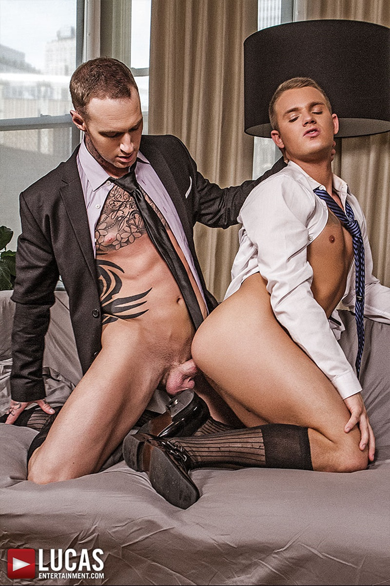 Hunks In Suit Slamming Tight Ass Holes