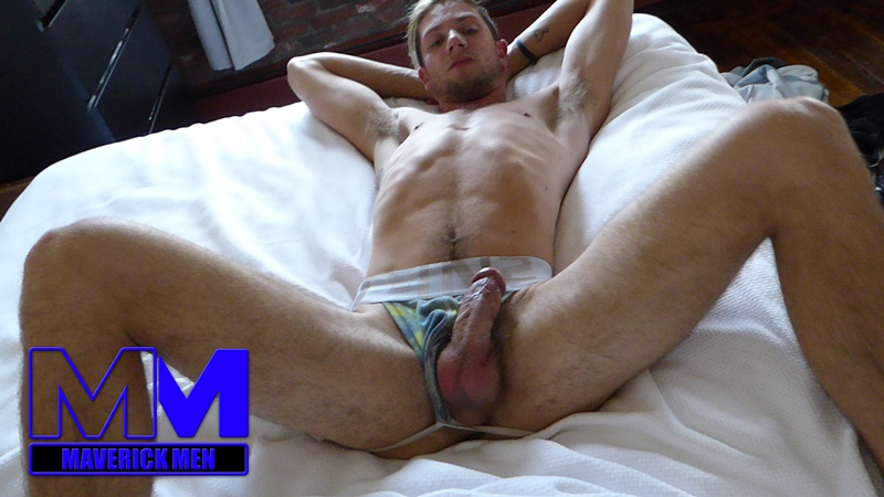 MaverickMen Maverick Men blonde long hair nude dude Anthony anal fucking fingering asshole cum bucket jizz eating 001 gay porn sex gallery pics video photo - Maverick Men Anthony's anal odyssey