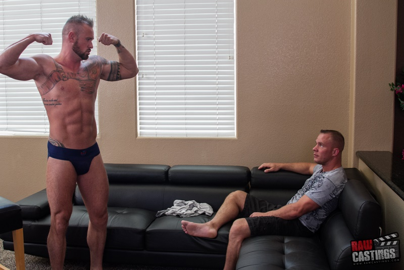 RawCastings Raw castings 421 Michael Roman sexy naked ripped muscle dude tattoo tight sexy underwear big thick cock raw anal fucking 001 gay porn sex gallery pics video photo - Raw castings 421 Michael Roman