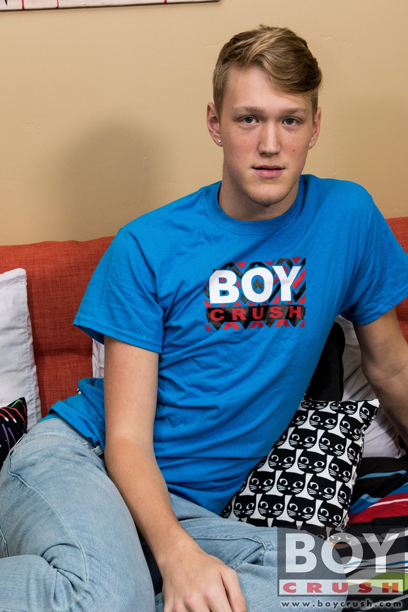 BoyCrush Handsome smooth young twink 19 year old Taylor Pierce jerks big boy cock jerking cum shot solo wanking bubble butt ass 004 gay porn sex gallery pics video photo - Handsome and smooth young twink 19 year old Taylor Pierce jerks his big boy cock