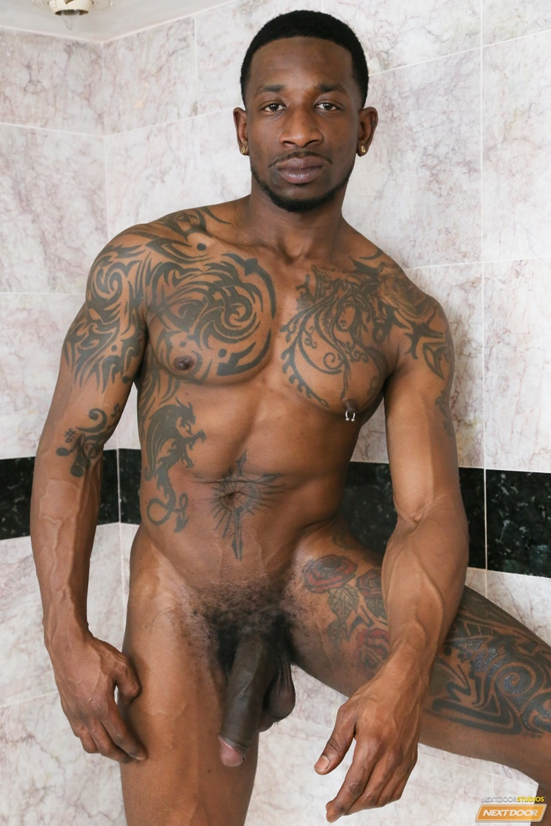 image Ebony gay cums inside butt and cum guzzlers