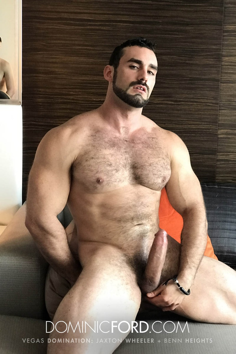 Dominate hairy gay sex