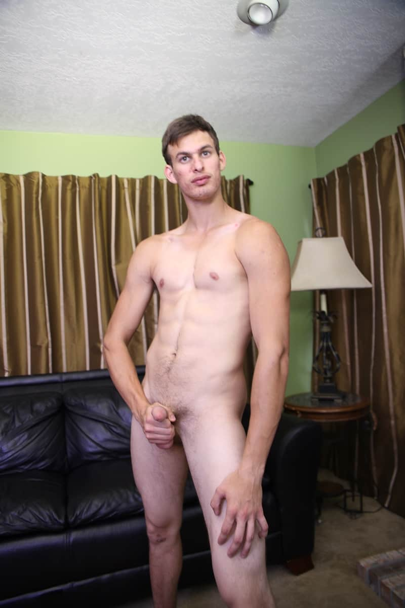 RawCastings gay porn sex pics Jonathan Oxford smooth chest tall young stud big thick dick solo jerking maturbation 002 gay porn sex gallery pics video photo - Raw Castings #1934: Jonathan Oxford
