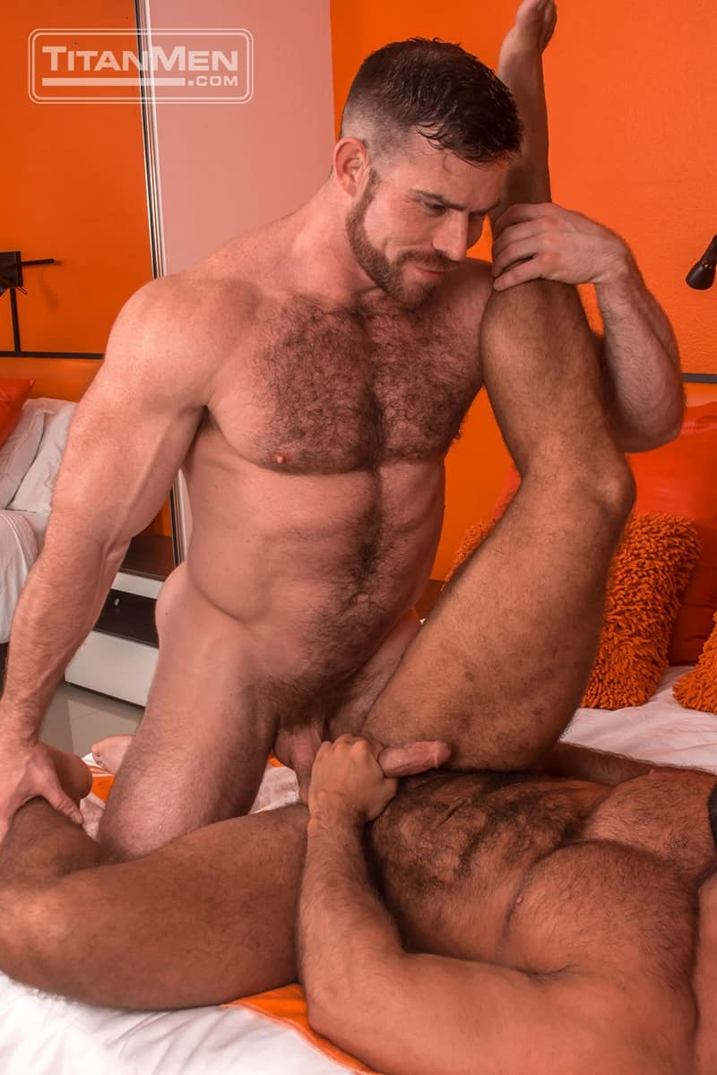 hairy chest Gay Tube  hairy chest men love to have rough sex