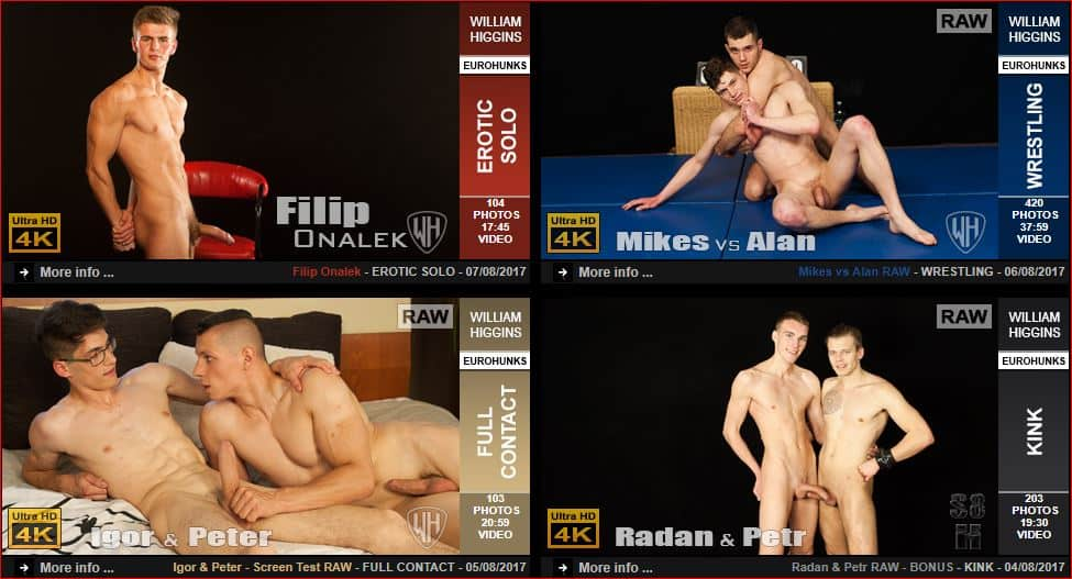 WilliamHigginsLatestGayPornScenes3 - Gay porn site William Higgins wins 5 star review