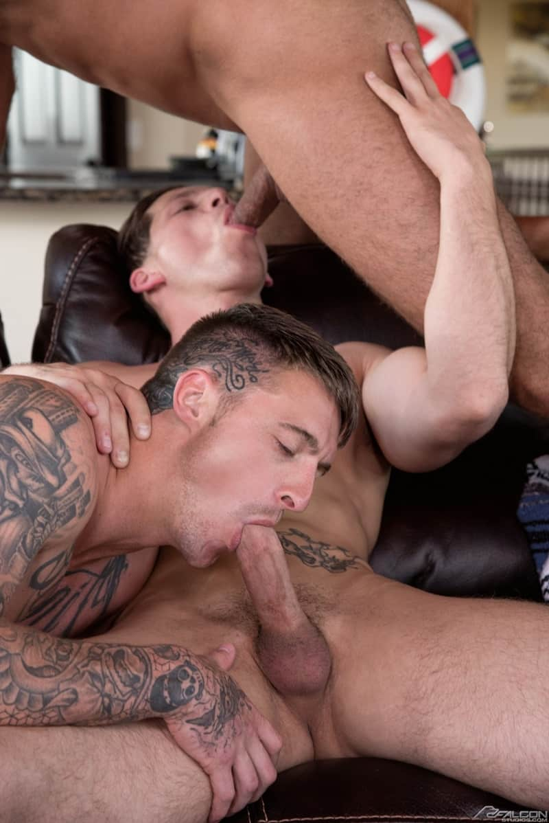 Both Sexy Muscle Hunks Roman Todd And Dane Stewart Fuck -7899