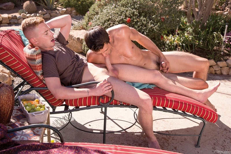 FalconStudios gay porn sexy naked muscle studs sex pics Kyler Ash rims horny stud Carter Michaels hot butt hole 001 gallery video photo - Kyler Ash rims horny stud Carter Michaels' hot butt hole getting it ready for his big dick
