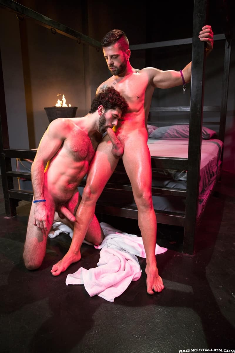 RagingStallion gay porn hot big nude muscle dude sex pics Hector de Silva fingers Tegan Zayne hairy ass hole huge cock 006 gallery video photo - Hector de Silva fingers Tegan Zayne's hairy hole until it's open and ready for his huge cock