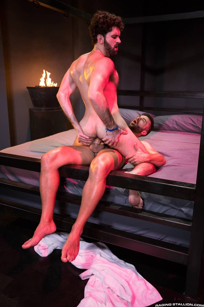 RagingStallion gay porn hot big nude muscle dude sex pics Hector de Silva fingers Tegan Zayne hairy ass hole huge cock 010 gallery video photo - Hector de Silva fingers Tegan Zayne's hairy hole until it's open and ready for his huge cock