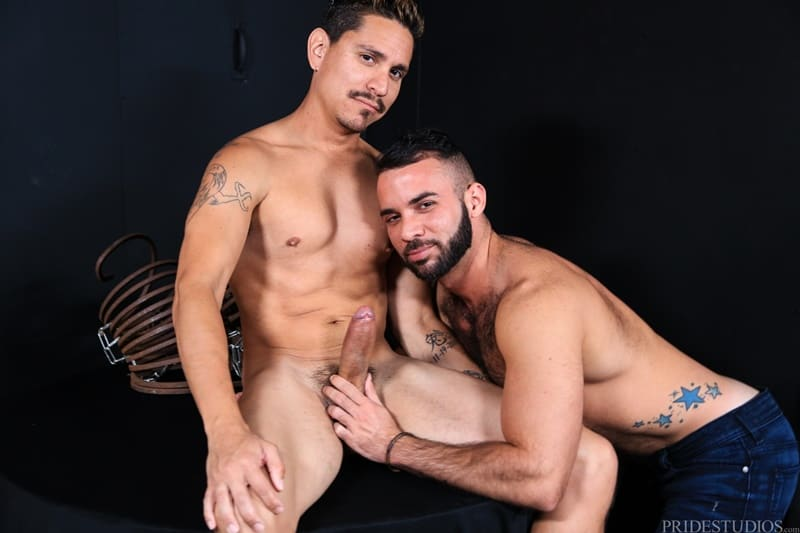 ExtraBigDicks gay porn sexy huge 9 inch cock young dude sex pics Fernando Del Rio Lex Sabre hardcore ass fucking 001 gallery video photo - Sexy young dude Fernando Del Rio sucks down hard on Lex Sabre's huge 9 inch cock