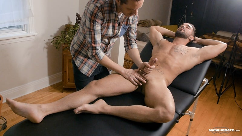 Pascal worships Zack Lemec's gorgeous ripped body as he ...