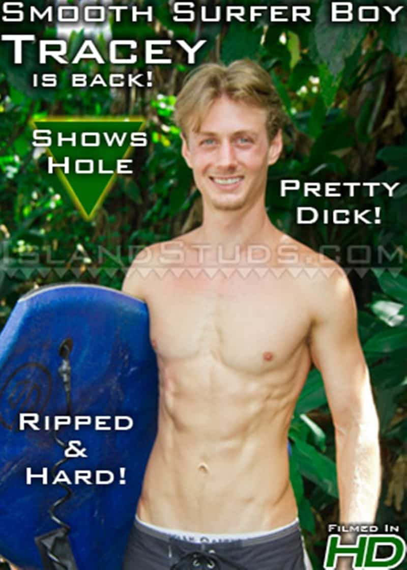 IslandStuds gay porn blond young college surfer jock sex pics Tracey jerking big dick 017 gallery video photo - Blond young college surfer jock Tracey is back jerking his big dick to a huge load of hot boy cum