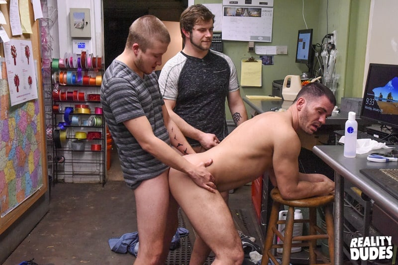 RealityDudes gay porn Big Dick Blow Job Anal Spit Roast Sex pics Brent Walker Brogan Reed Justin Dickson 001 gallery video photo - Brent Walker, Brogan Reed and Justin Dickson hardcore big cock spit roasting anal