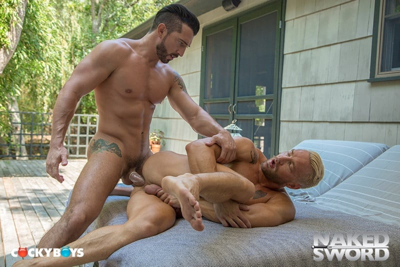 NakedSword Colby Keller Levi Karter Will Wikle ass fucking anal The Stillest Hour 014 gallery video photo - Colby Keller, Levi Karter and Will Wikle go on an ass fucking thrilling ride with The Stillest Hour