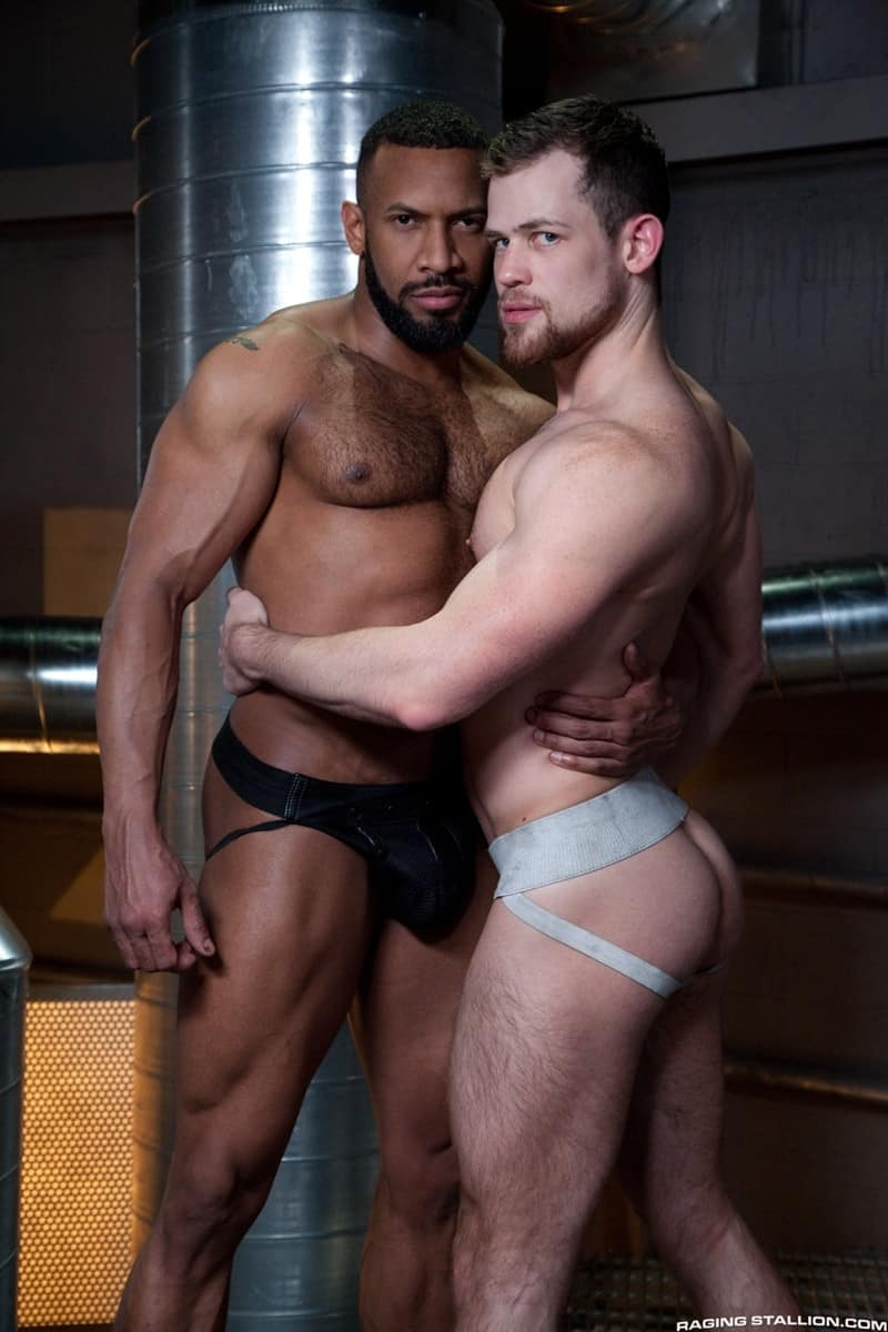 RagingStallion Jay Landford rimming licking Kurtis Wolfe ass hole fingers tongue anal fucking big cock 009 gallery video photo - Jay Landford takes his time licking Kurtis Wolfe's hole going deep with his fingers and tongue