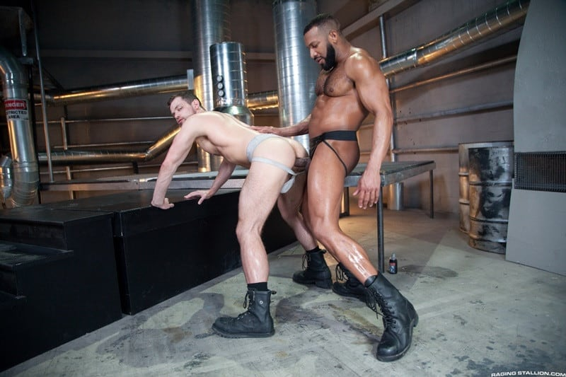 RagingStallion Jay Landford rimming licking Kurtis Wolfe ass hole fingers tongue anal fucking big cock 013 gallery video photo - Jay Landford takes his time licking Kurtis Wolfe's hole going deep with his fingers and tongue