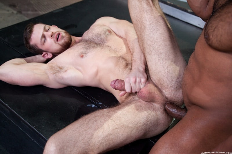RagingStallion Jay Landford rimming licking Kurtis Wolfe ass hole fingers tongue anal fucking big cock 014 gallery video photo - Jay Landford takes his time licking Kurtis Wolfe's hole going deep with his fingers and tongue
