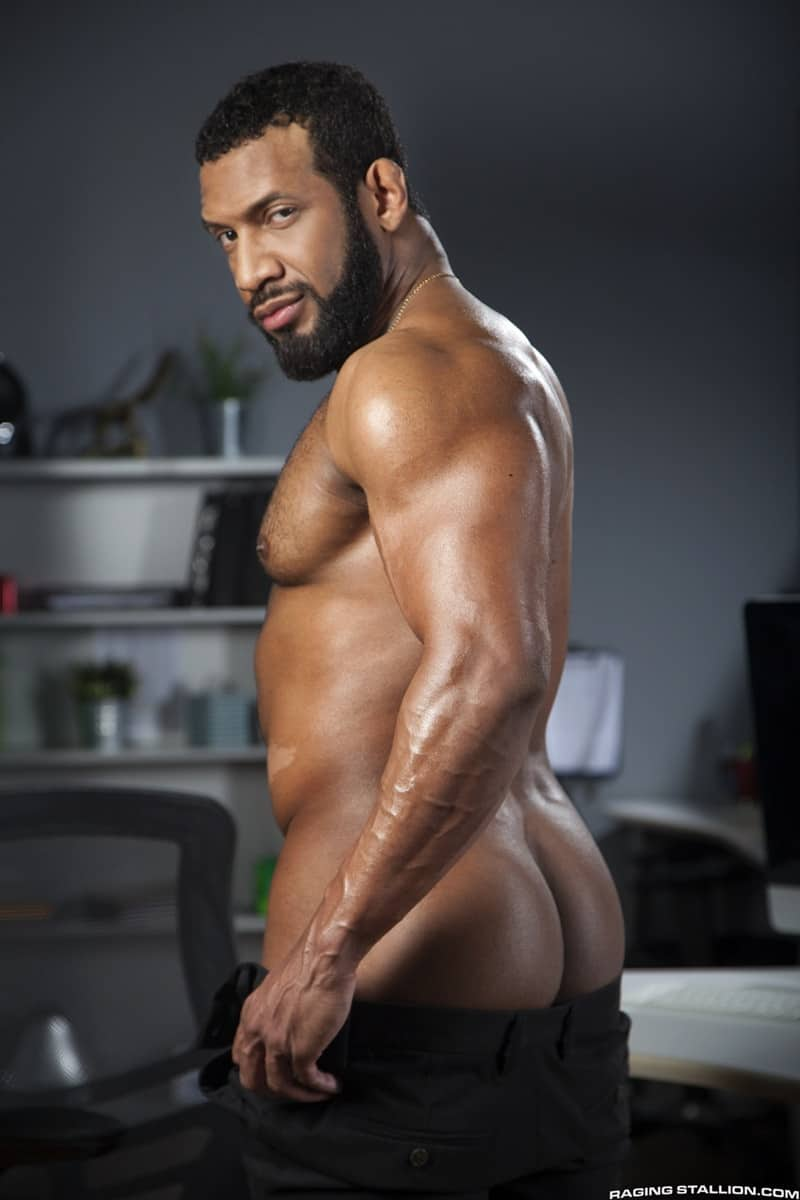 RagingStallion Bruno Bernal ass fucking big naked dicks Jay Landford butt hole rimming cocksucking 005 gallery video photo - Bruno Bernal moans loudly as Jay Landford's huge dick stretches his butt hole to the max