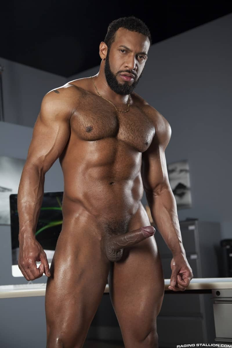 RagingStallion Bruno Bernal ass fucking big naked dicks Jay Landford butt hole rimming cocksucking 007 gallery video photo - Bruno Bernal moans loudly as Jay Landford's huge dick stretches his butt hole to the max
