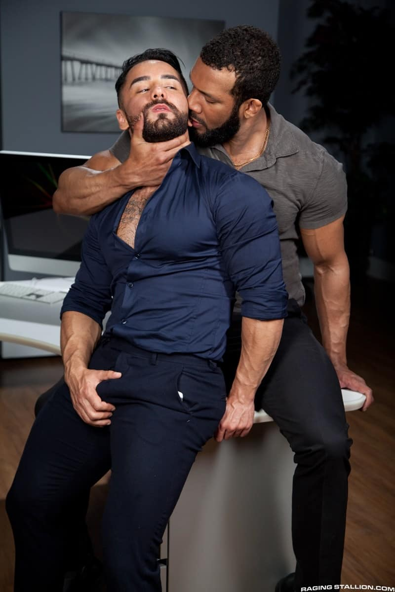 RagingStallion Bruno Bernal ass fucking big naked dicks Jay Landford butt hole rimming cocksucking 008 gallery video photo - Bruno Bernal moans loudly as Jay Landford's huge dick stretches his butt hole to the max