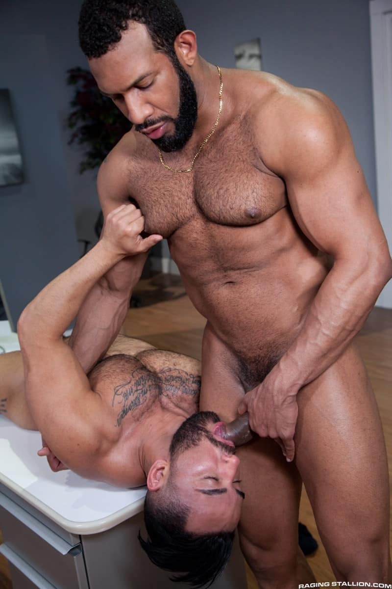 RagingStallion Bruno Bernal ass fucking big naked dicks Jay Landford butt hole rimming cocksucking 010 gallery video photo - Bruno Bernal moans loudly as Jay Landford's huge dick stretches his butt hole to the max