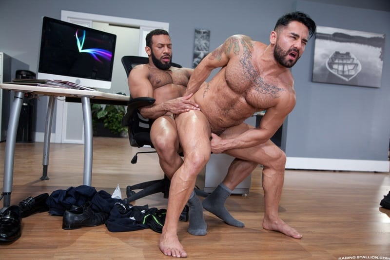 RagingStallion Bruno Bernal ass fucking big naked dicks Jay Landford butt hole rimming cocksucking 014 gallery video photo - Bruno Bernal moans loudly as Jay Landford's huge dick stretches his butt hole to the max