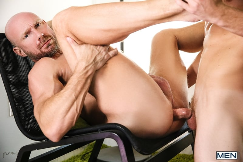 Men for Men Blog Gay-Porn-Pics-016-Justin-Matthews-Killian-Knox-Nipple-Play-Blowjob-Gagging-Ass-Licking-Doggystyle-Men Justin Matthews and Killian Knox hot big dick sucking and ass fucking orgy Men