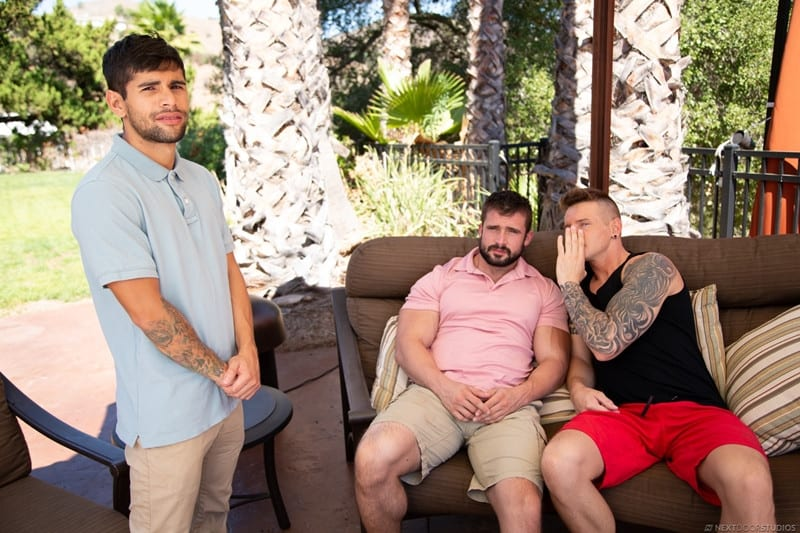 Men for Men Blog Gunner-and-Mathias-Ty-Mitchell-gay-porn-threesome-bareback-fucking-hot-little-hole-NextDoorStudios-001-gay-porn-pics-gallery Gunner and Mathias taking turns bareback fucking Ty Mitchell's hot little hole Next Door World