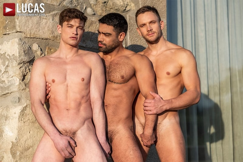 Men for Men Blog Gay-Porn-Pics-004-Andrey-Vic-Wagner-Vittoria-Ruslan-Angelo-Hot-gay-threesome-huge-dicks-double-fuck-hot-muscle-ass-LucasEntertainment Hot gay threesome Andrey Vic and Wagner Vittoria's huge dicks double-fuck Ruslan Angelo's hot muscle ass Lucas Entertainment