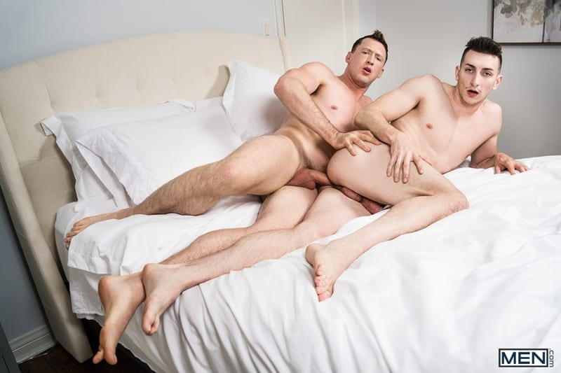 Men for Men Blog Gay-Porn-Pics-013-Pierce-Paris-Michael-Jackman-huge-long-dick-pounds-tight-hole-anal-fucking-Men Pierce Paris' huge long dick pounds Michael Jackman's tight hole all over the bedroom Men