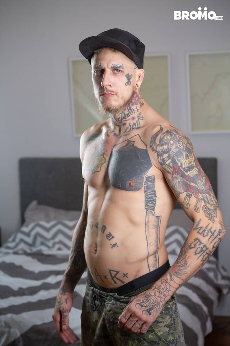 Tattoo gay cute twink photo