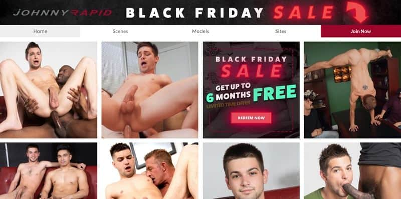 Johnny Rapid Black Friday Cyber Monday Holiday Discount Deals 001 gay porn pics - Holiday Discounts